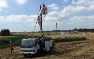 Installing Temporary Site Power