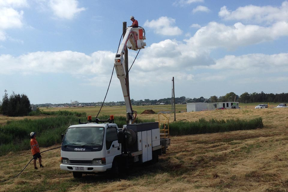 Installing Temporary Site Power
