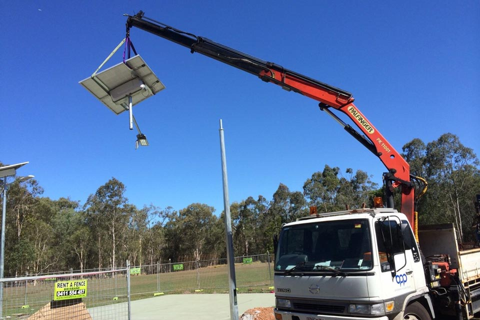 Recent Work Solar Light Installation