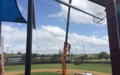 Twin Lift 20 Metre Steel Pole